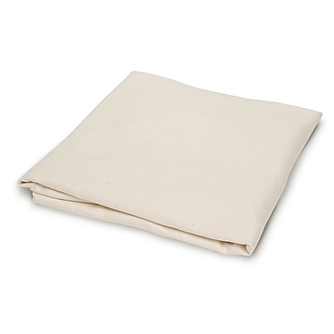 Naturepedic® Fitted Flannel Crib Sheet in Ivory