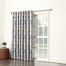 Sun Zero Allena Grommet Top Extra Wide Patio Door Curtain Panel in Stone  sc 1 st  Bed Bath u0026 Beyond & Door Curtains | Bed Bath u0026 Beyond