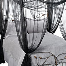 image of Majesty Bed Canopy in Black