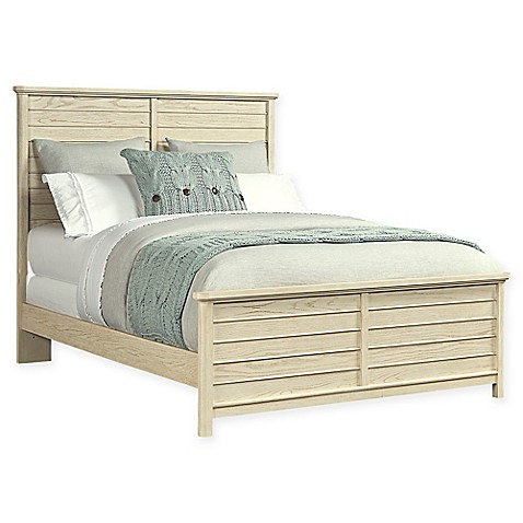 Kids Furniture Stone Leigh By Stanley Furniture Driftwood Park Full Panel Bed In Vanilla Oak