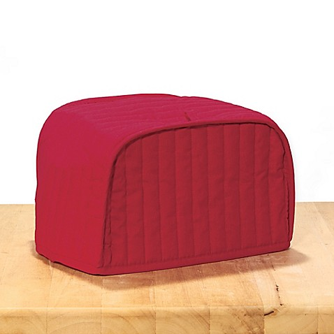 Ritz 174 Quilted Toaster Oven Cover In Paprika Bed Bath