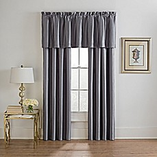 image of VCNY Lisbon Window Curtain Panel Pair and Valance