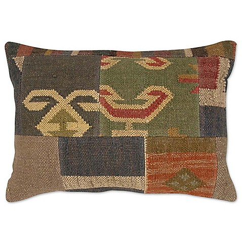 How To Make A Patchwork Throw Pillow : Patchwork Rectangle Throw Pillow - Bed Bath & Beyond