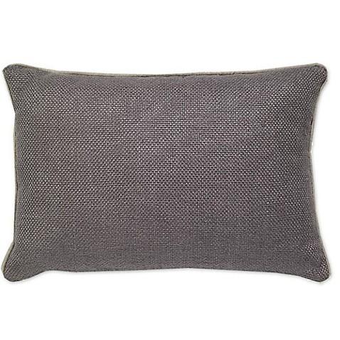 Outdoor Throw Pillows Kmart : Aura Basket Weave Oblong Throw Pillow - Bed Bath & Beyond