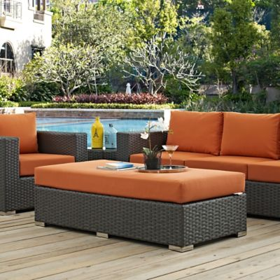 modway sojourn outdoor furniture collection in sunbrella canvas - Bed Bath And Beyond Patio Furniture