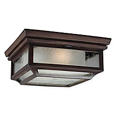 image of Feiss® Shepherd Flush-Mount Outdoor Light