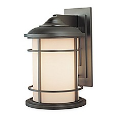 image of Feiss® Lighthouse Outdoor 14.5-Inch Wall Sconce