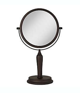 Espejo de tocador Anaheim®, giratorio doble en bronce aceitado