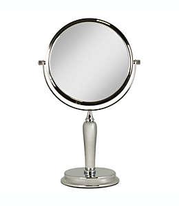 Espejo de tocador giratorio Zadro™ Anaheim™, con aumento 1x/5x en dorado