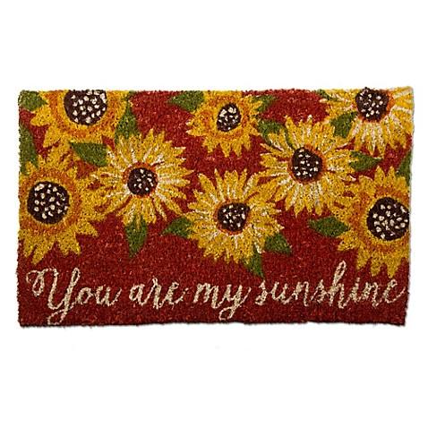 Sunflower Doormat Bed Bath Amp Beyond