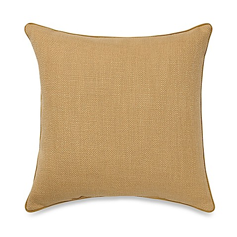 Buy Teena Throw Pillow in Gold from Bed Bath & Beyond
