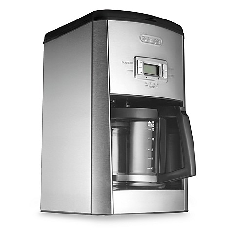 De 39 Longhi Dc514t Stainless Steel 14 Cup Drip Coffee Maker