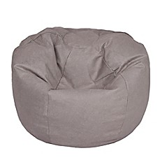 image of extra large bean bag chair in brushed denim fog beanbags sphere chairs furniture dorm