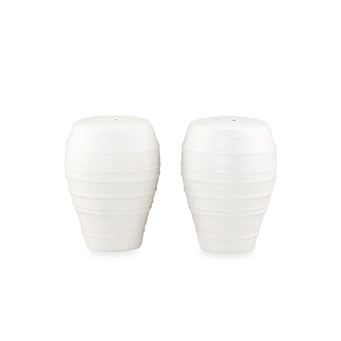 Mikasa® Swirl Salt and Pepper Shakers in White