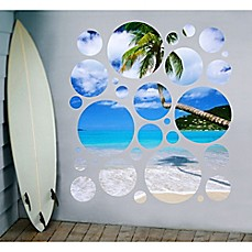 image of greenbox art day in paradise portal wall stickers