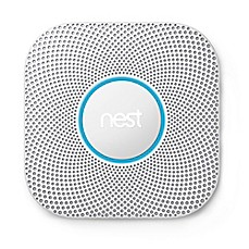 image of Nest® Protect Second Generation Battery Smoke and Carbon Monoxide Alarm