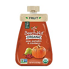 image of Beech-Nut® Organic Stage 2 Pear, Pumpkin, and Cranberry Cold Purée