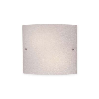Minka Lavery 2-Light Wall Sconce in Brushed Nickel with Prismatic Frosted Glass Shade - Bed ...