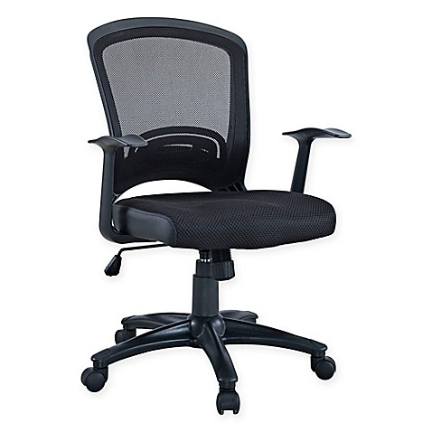 Buy Modway Pulse Mesh fice Chair in Black from Bed Bath