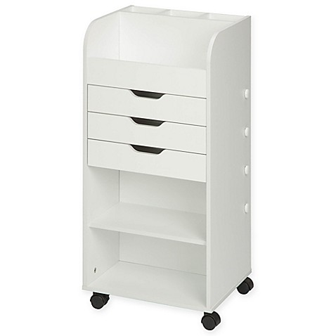storage drawers on wheels honey can do 174 rolling craft storage cart with 3 drawers in 26871