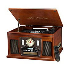 image of Victrola™ Nostalgic Classic 8-In-1 Bluetooth® Turntable