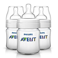 image of Philips Avent 3-Pack 4 fl. oz. Anti-Colic Bottle