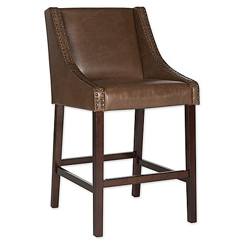 Buy Safavieh Dylan Barstool In Brown From Bed Bath Amp Beyond