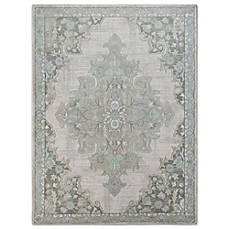 Image Of Home Dynamix Berkeley Floral Damask Area Rug