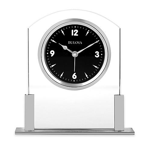 Bulova Newton Table Clock Bed Bath Amp Beyond