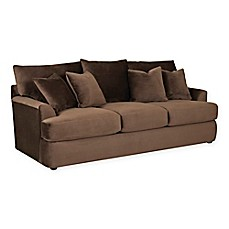 image of Klaussner® Findley Sofa Sleeper in Chocolate