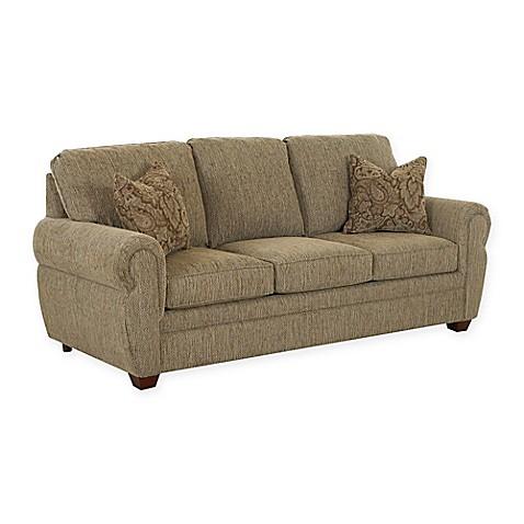 Klaussner 174 Westbrook Queen Sofa Sleeper In Cactus Bed