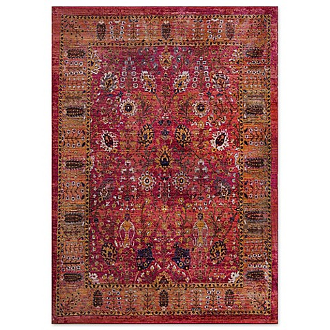 Home Dynamix Melville Area Rug In Red Bed Bath Amp Beyond