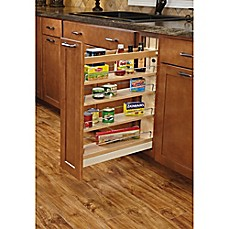 Image Of Rev A Shelf Pull Out Wood Base Cabinet Organizer With Ball