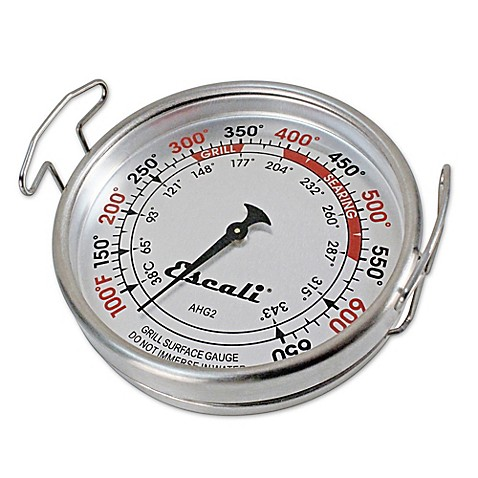 Escali 174 Extra Large Grill Surface Thermometer Bed Bath