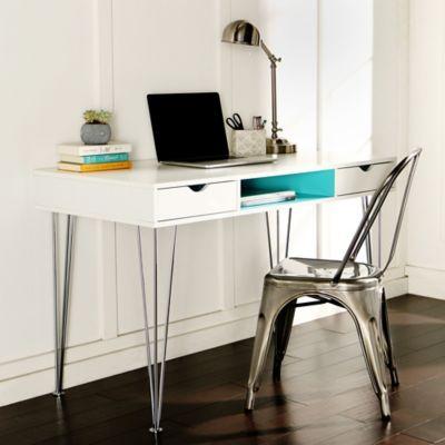 Forest Gate Color Accent Computer Desk
