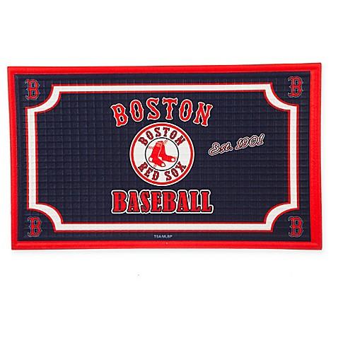 MLB Boston Red Sox Embossed Door Mat  sc 1 st  Bed Bath \u0026 Beyond & MLB Boston Red Sox Embossed Door Mat - Bed Bath \u0026 Beyond