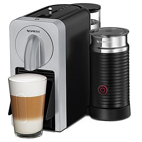nespresso machine milk