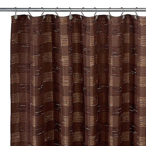 woodlander 72 inch x 75 inch fabric shower curtain bed