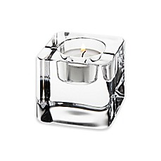 image of Orrefors Nordic Light Ice Cube Votive Candle Holder