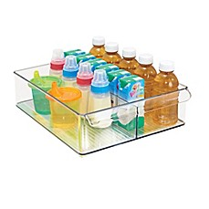 image of InterDesign® Fridge Binz™ 12-Inch x 15-Inch Divided Deep Tray