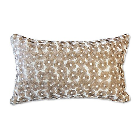 Blissliving Bahia Palace 12-Inch x 20-Inch Oblong Throw Pillow in Gold - Bed Bath & Beyond