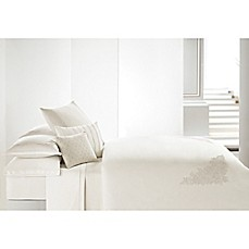 image of Vera Wang™ Passimenterie Duvet Cover in Natural