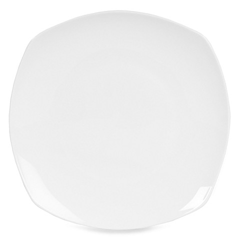 Nevaeh White® by Fitz and Floyd® Soft Square Dinner Plate