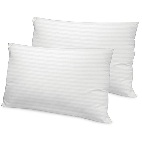 Therapedic Loft 500-Thread-Count Tencel Bed Pillow in White (Set of 2) - Bed Bath & Beyond