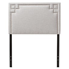 image of Wholesale Interiors Geneva Twin Headboard