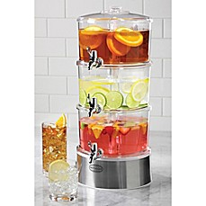 image of nostalgia electrics 3tier infuser accelerator - Drink Dispensers
