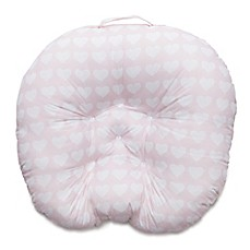 image of Boppy® Newborn Lounger in Pink Hearts