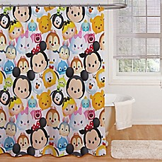 Image Of Disney® Tsum Tsum Stacks Shower Curtain