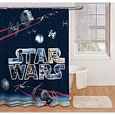 Star Wars E Battle 72 Inch Shower Curtain