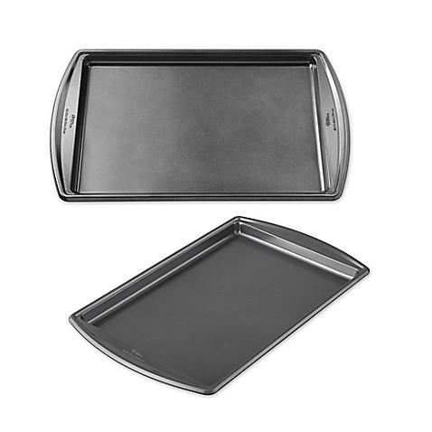 Image Of Wilton Advance Select Premium Nonstick Baking Sheet In Gunmetal